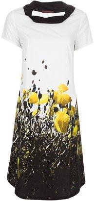 Katharina Hovman printed shift dress