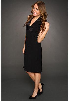 Anne Klein Tuxedo Dress