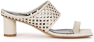 SALONDEJU 50 Stone Cut-out Leather Sandals