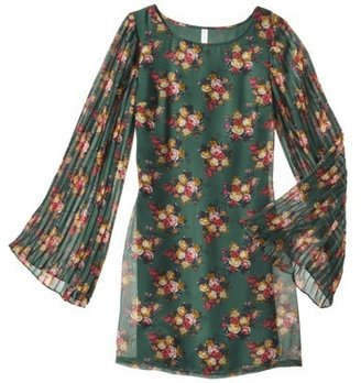 Xhilaration Juniors Bell Sleeve Shift Dress - Assorted Colors