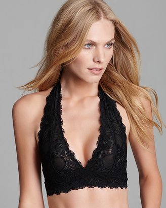 Free People Galloon Lace Halter Bra #F763O915 $25 thestylecure.com