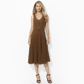 Ralph Lauren Linen V-Neck Dress