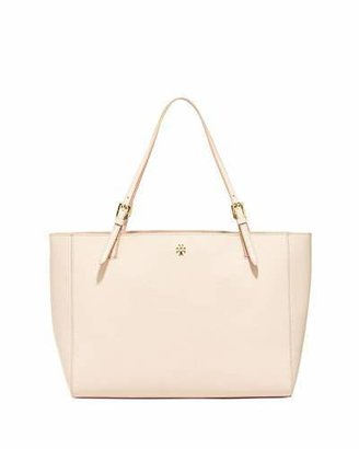 Tory Burch York Saffiano Leather Tote Bag, Light Oak $295 thestylecure.com