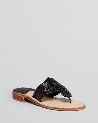 Jack Rogers Thong Sandals - Sequins