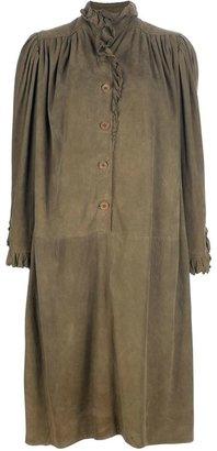 Ungaro Vintage oversized ruffle dress