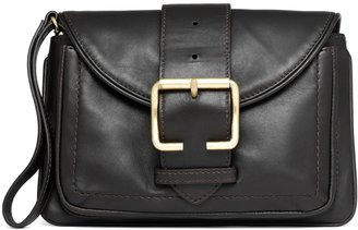 Brooks Brothers Lambskin Buckle Wristlet