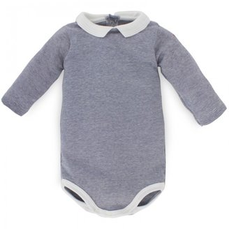 Petit Bateau Stripe Long Sleeve Body