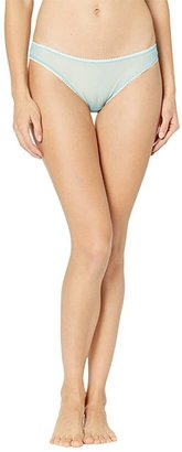 OnGossamer Solid Gossamer Mesh Hip Bikini 3202 (Blush) Women's Underwear