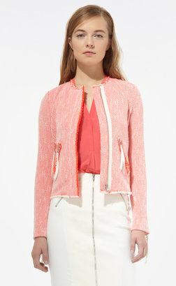 Rebecca Taylor Neon Tweed Jacket