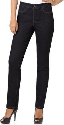 NYDJ Petite Jeans, Janice Skinny Denim Jeggings, Dark Wash