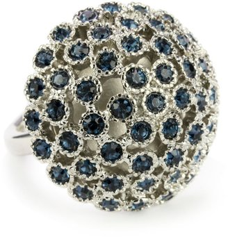 "Kenneth Cole New York ""Modern Gallery"" Montana Stone Burst Ring, Size 7.5"