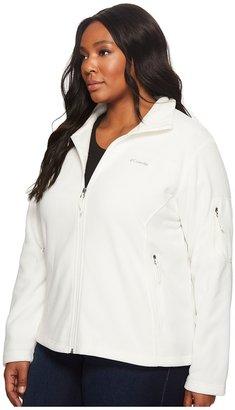 Columbia Plus Size Fast Trek II Full Zip Fleece Jacket Women's Coat