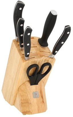 Victorinox Forged 7-Piece Cutlery Block Set (Black) - Home