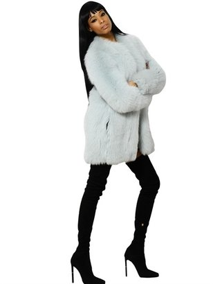 Emilio Pucci Shadow Fox Fur Coat