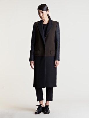 Lanvin Women's Contrast Panel Coat