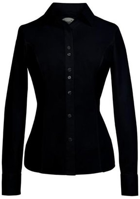 Rebecca & Drew Long Sleeve Slim Fit Shirt with Princess Seams