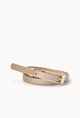 Forever 21 Classic Skinny Belt