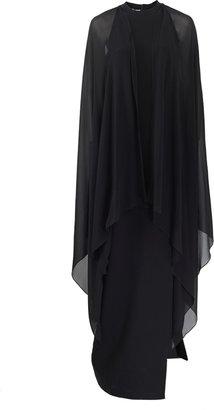 Michael Kors Cape Gown