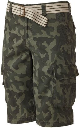 Urban pipeline ® camouflage pinfaille cargo shorts - men