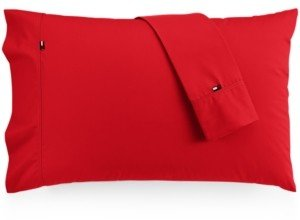 Tommy Hilfiger Solid Core Pair of King Pillowcases Bedding