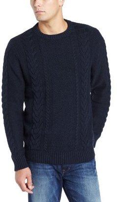 Nautica Men's Cable Fisherman Sweater