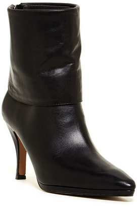 Adrienne Vittadini Jael Folded Cuff Bootie $179 thestylecure.com