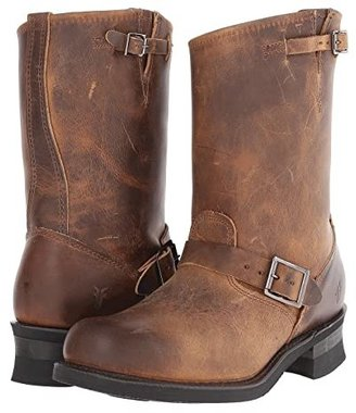 Frye Engineer 12R (Dark Brown Old Town Leather) Men's Pull-on Boots