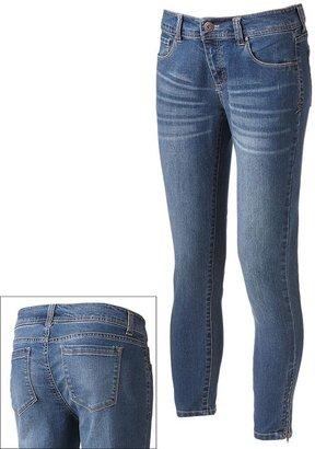 Apt. 9 modern fit skinny ankle jeans