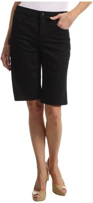 NYDJ Teresa Walking Short (Black) - Apparel