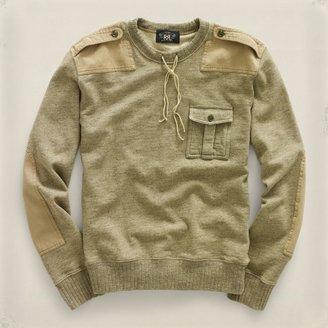 RRL Heathered Fleece Sweatshirt