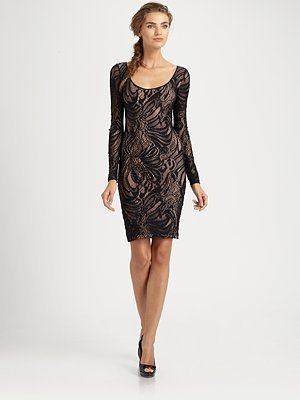 BCBGMAXAZRIA Tanya Lace Dress