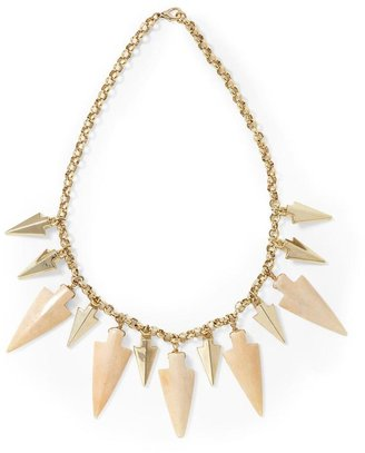 Juicy Couture Hive & Honey Arrowhead Statement Necklace