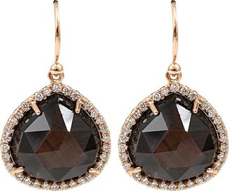 Irene Neuwirth JEWELRY Rose Cut Golden Sapphire Earrings
