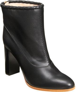 Nina Ricci Whipstitch Trim Ankle Boot