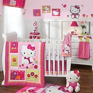 Lambs & Ivy Hello Kitty® Garden 5-pc. Baby Bedding