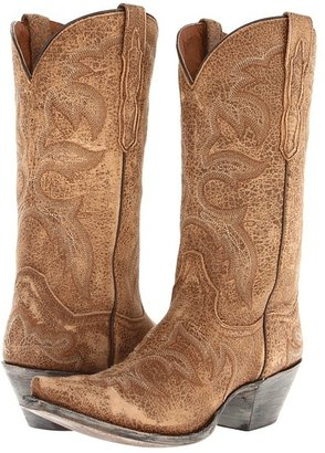Dan Post Ventura (Camel Distressed Softee) - Footwear