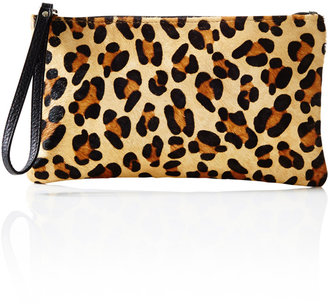 The Limited Midsize Leopard Haircalf Clutch