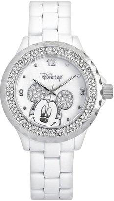 Disney Disney's Mickey Mouse Peekaboo Women's Crystal Watch