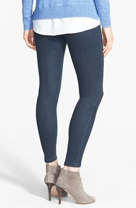 Hue 'Moto' Denim Leggings (Online Only)