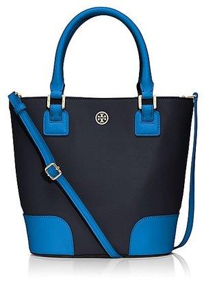 Tory Burch Robinson Color-Block Bucket Bag