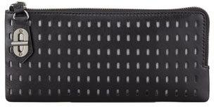 Reed Krakoff T-Pin Turnlock Wallet, Black