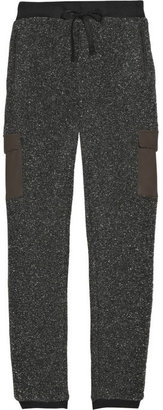 Rag and Bone Rag & bone Waverly leather-trimmed track pants