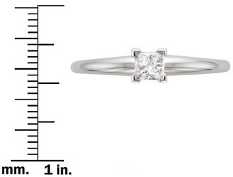 Diamond 1 CT.T.W. Solitaire Ring in 14K White Gold - In Assorted Sizes