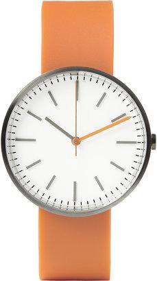 Uniform Wares 104 Series Brushed-Steel Wristwatch