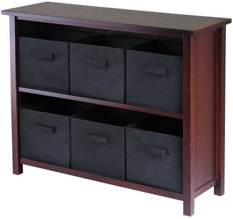 Winsome Verona 6-Bin Storage Shelf