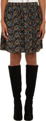 Sea Brocade Skirt
