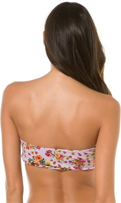 Swell Blossom Floral Print Bandeau Top