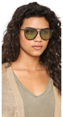 Marc by Marc Jacobs Round Aviator Sunglasses
