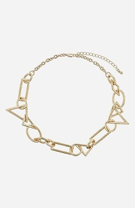 Topshop Collar Necklace Gold