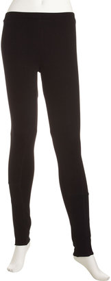 Romeo & Juliet Couture Stitch-Detail Ponte Leggings